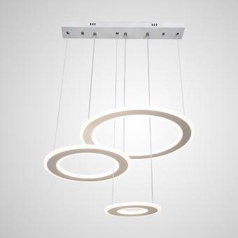 Lustra LED dimabila cu telecomanda 3 functii Alba