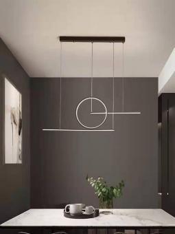 Lustra LED dimabila cu telecomanda 3 functii Diseno