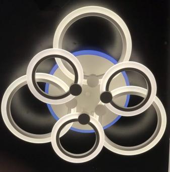 Lustra LED dimabila cu telecomanda 3 functii si RGB