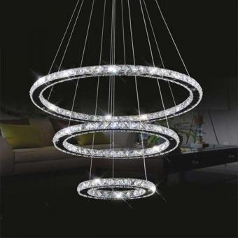 Lustra LED Cristal 3 corpuri