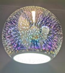 Pendul 3D Fireworks E27