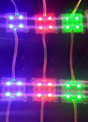 Modul 4 leduri RGB