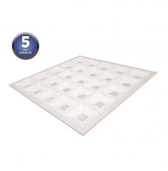 Panou LED 60x60 clasa A rama alba