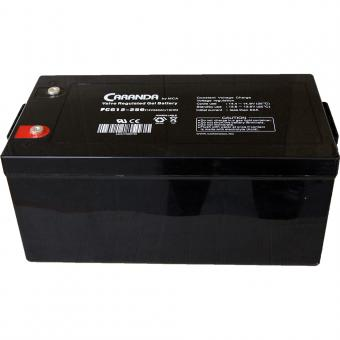 Baterie solara AGM VRLA 250Ah