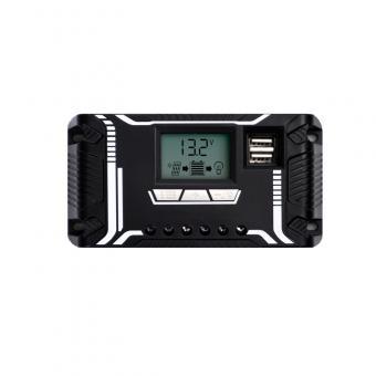 Controler de incarcare 10A PWM cu LCD si USB