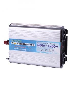 Invertor 12V unda pura 600W