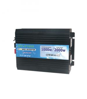 Invertor 24V unda sinus pur 1000W cu telecomanda