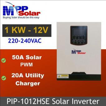 Invertor hibrid unda pura 1000W cu regulator PWM 50A 1012HSE