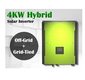 Invertor hibrid unda pura 4000W cu regulator MPPT 80A