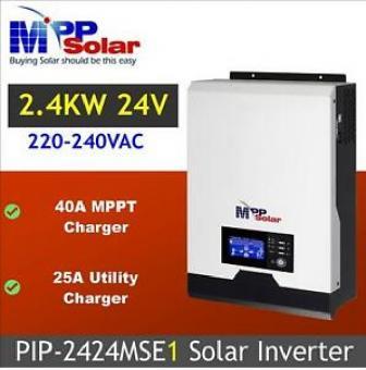 Invertor hibrid unda pura cu regulator MPPT 40A MPPSOLAR
