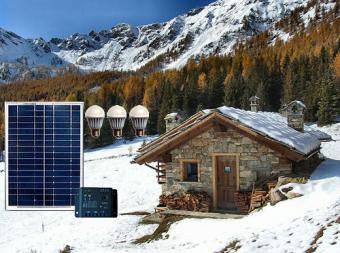 Kit fotovoltaic cu invertor