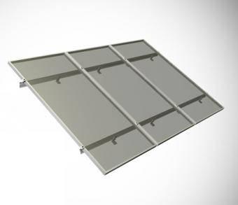 Sistem de prindere acoperis inclinat 3 panouri fotovoltaice