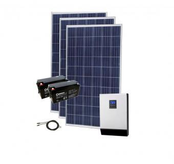 Sistem fotovoltaic 780Wp cu invertor hibrid si acumulator