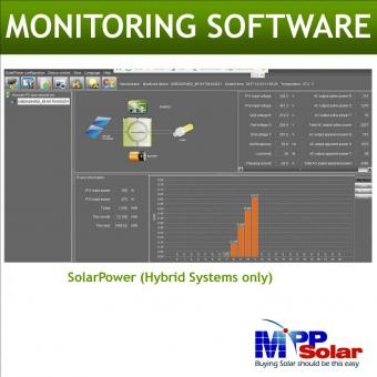 Invertor hibrid unda pura 5500W cu regulator MPPT 60A