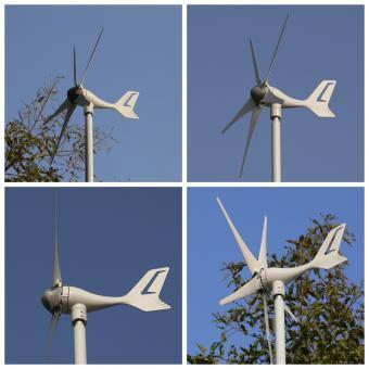 Turbina eoliana 5 pale cu MPPT
