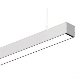 Corp de iluminat suspendat liniar LED silver