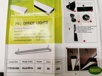 Corp de iluminat LED suspendat liniar IP65