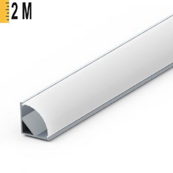 Profil LED 90 grade slim 2m