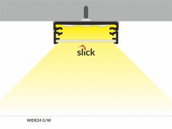 Profil LED aplicat WIDE 2m