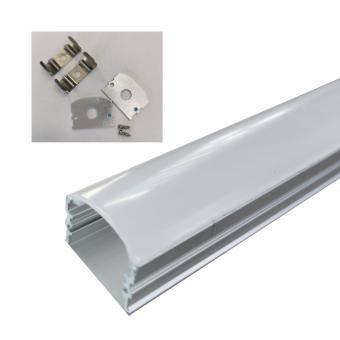 Profil LED aplicat lat 2m