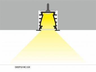 Profil LED incastrat 2m