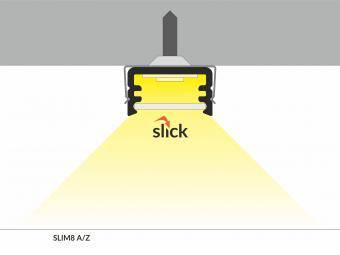 Profil LED slim aplicat 1m
