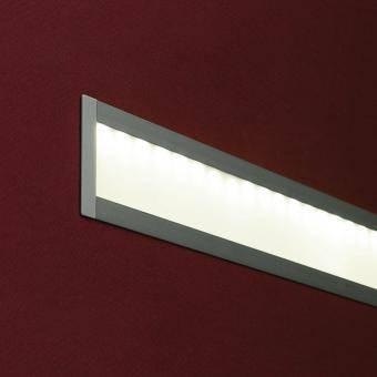 Profil LED plat incastrat 1m