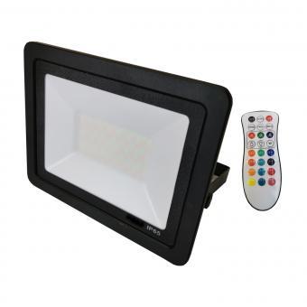 Proiector LED RGB cu telecomanda IR