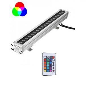 Proiector liniar RGB 100cm cu telecomanda
