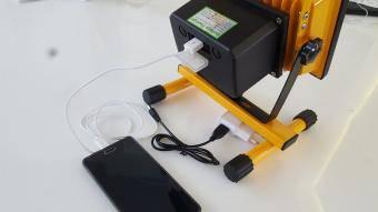 Proiector LED cu acumulator