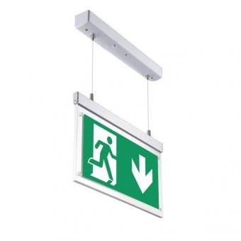 Indicator EXIT suspendat directional cu acumulator 3h