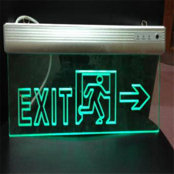 Indicator EXIT cu acumulator