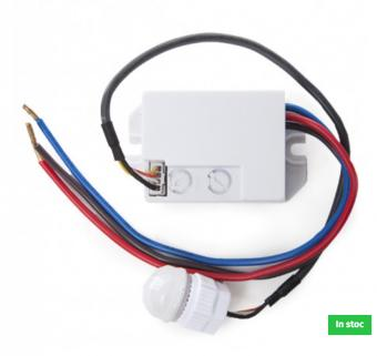 Senzor de miscare programabil 220V