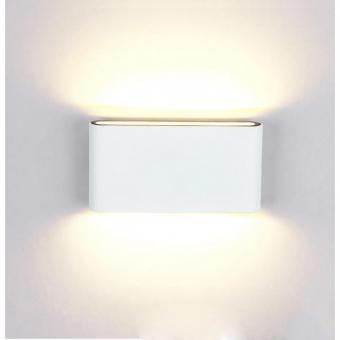 Spot LED de fatada bidirectional alb
