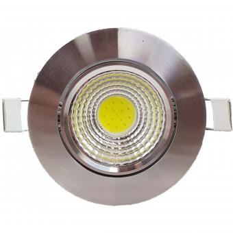 Spot LED orientabil crom