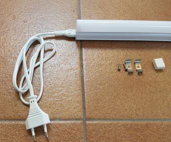 Corp led T5 interconectabil cu intrerupator